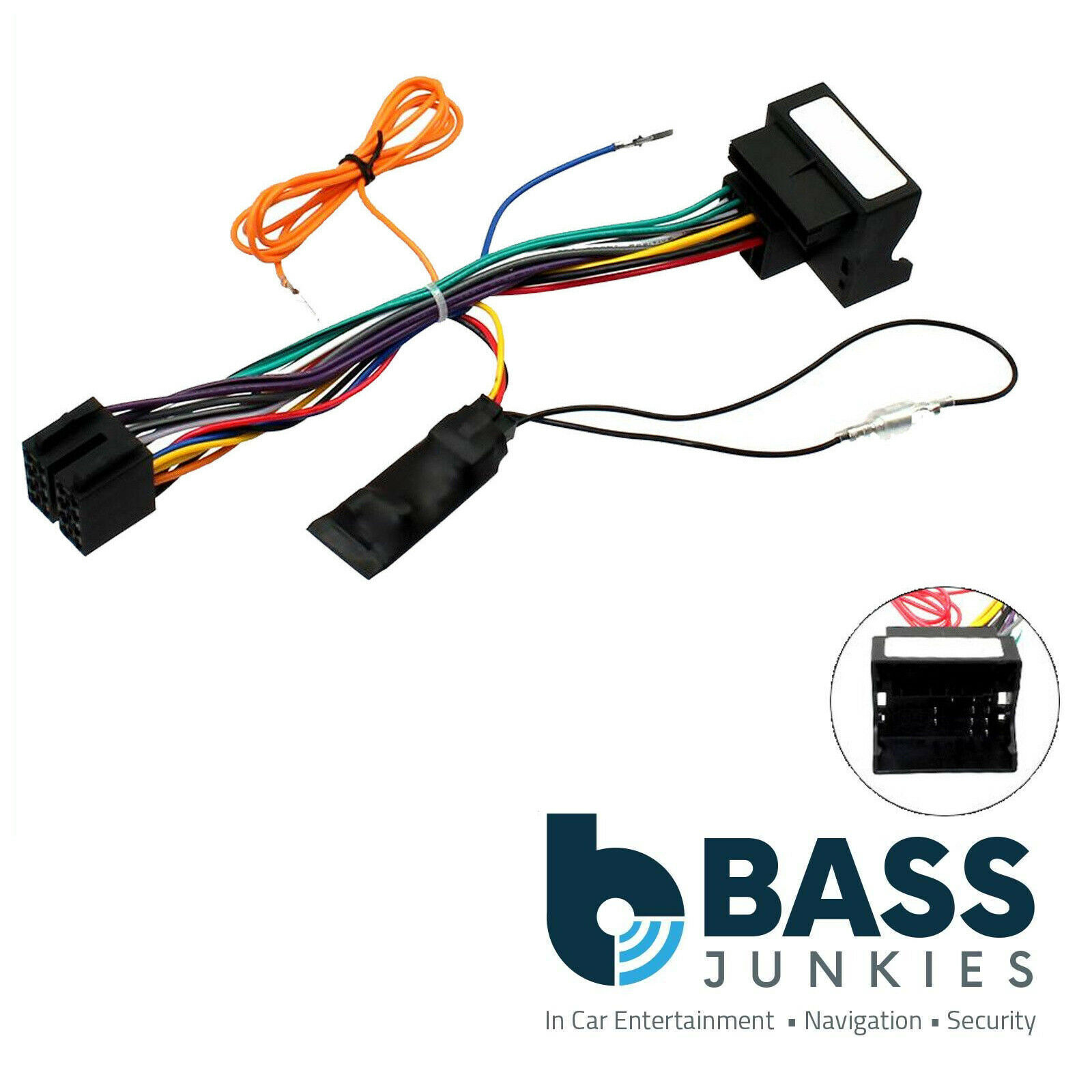 Citroen C8 2006 On Car Stereo Quadlock Wiring Harness Ignition Heater Resistor 2 Plug Repair Loom For 1 Of 1free Shipping
