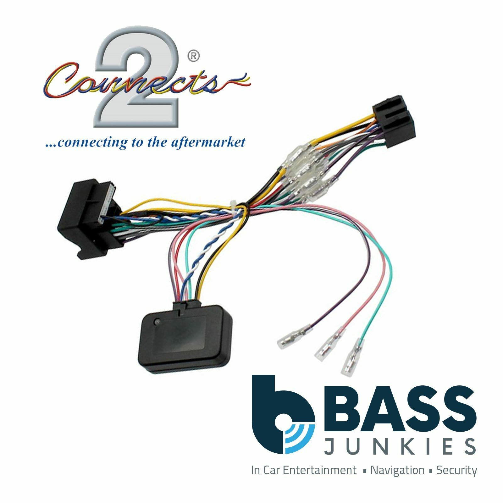 Ford Focus 2005 2011 Car Stereo Quadlock Wiring Harness Ignition Adapter Lead 1 Of 1free Shipping