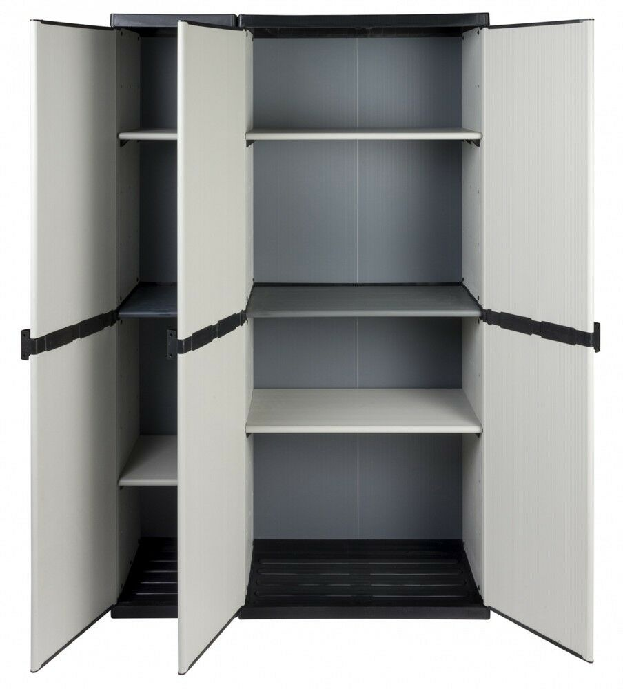 xxl haushaltsschrank gartenschrank schrank. Black Bedroom Furniture Sets. Home Design Ideas