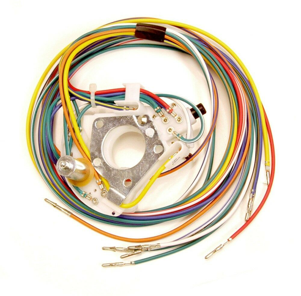 1968 Cougar Wiring Harness Detailed Schematics Diagram 68 Mustang Hood Turn Signal Tbird Switch W Wire Cam