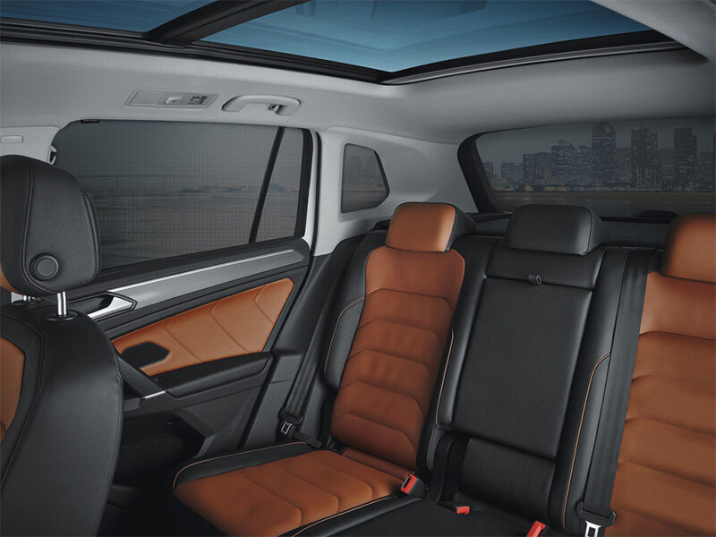 vw tiguan mqb ab 2016 sonnenschutz hinten 5 teilig. Black Bedroom Furniture Sets. Home Design Ideas