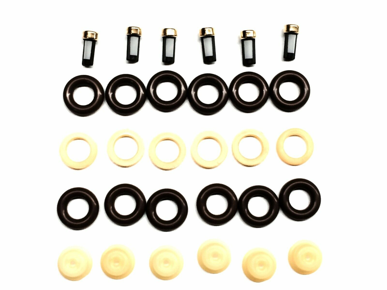 Fuel Injector Repair Kit O Rings Pintle Caps Spacer Filters Gm 38 2007 Monte Carlo Filter 38l 1 Of 2free Shipping