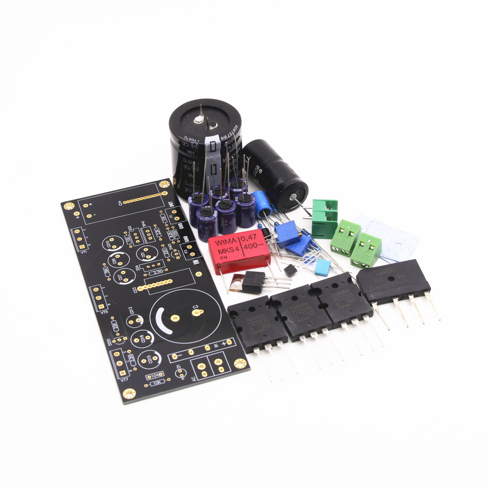 Diy Kit Mono Hood 1969 Class A Lt1083 5200 Power Amplifier Board Ocl 1 Of 2only 5 Available