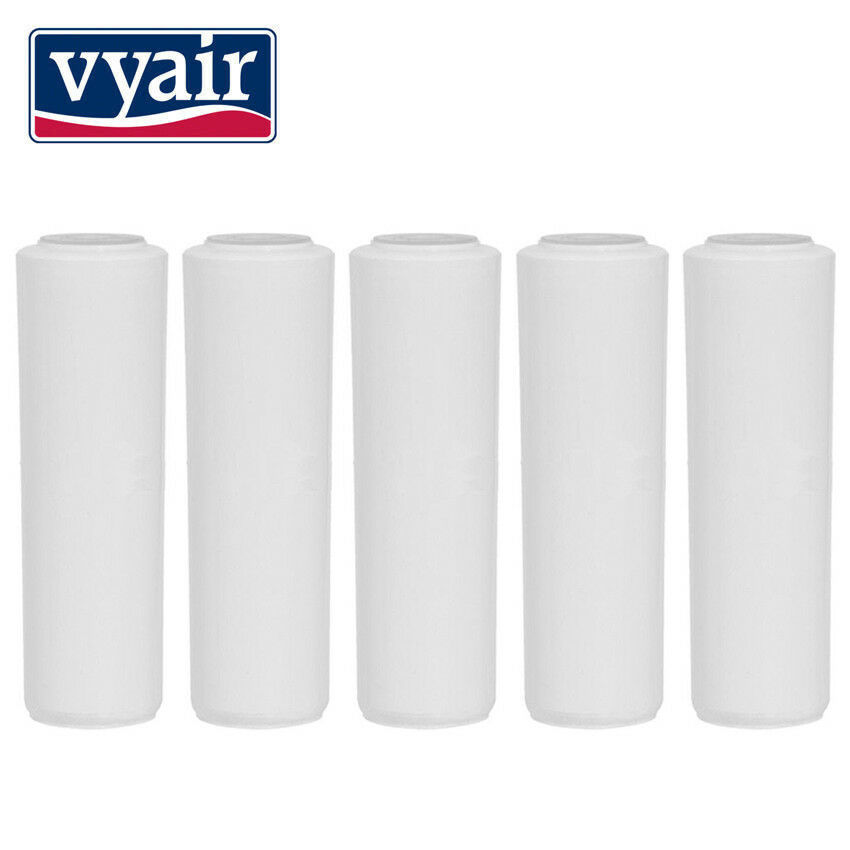 "3 PACK - 10"" Chloramine Removal Carbon Filters - Catalytic Coconut Carbon"
