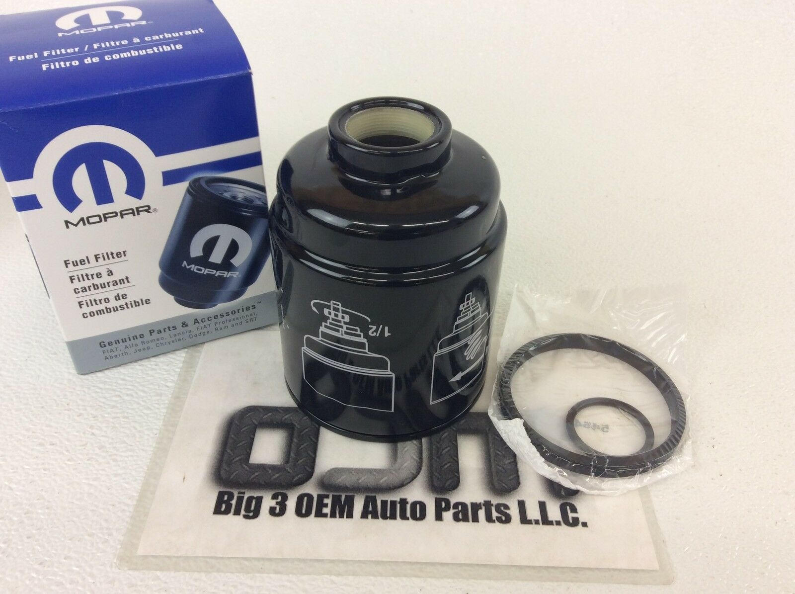 2013-2016 Ram 6.7L Cummins Diesel Fuel Filter Water Separator OEM  68197867AB 1 of 1Only 2 available See More