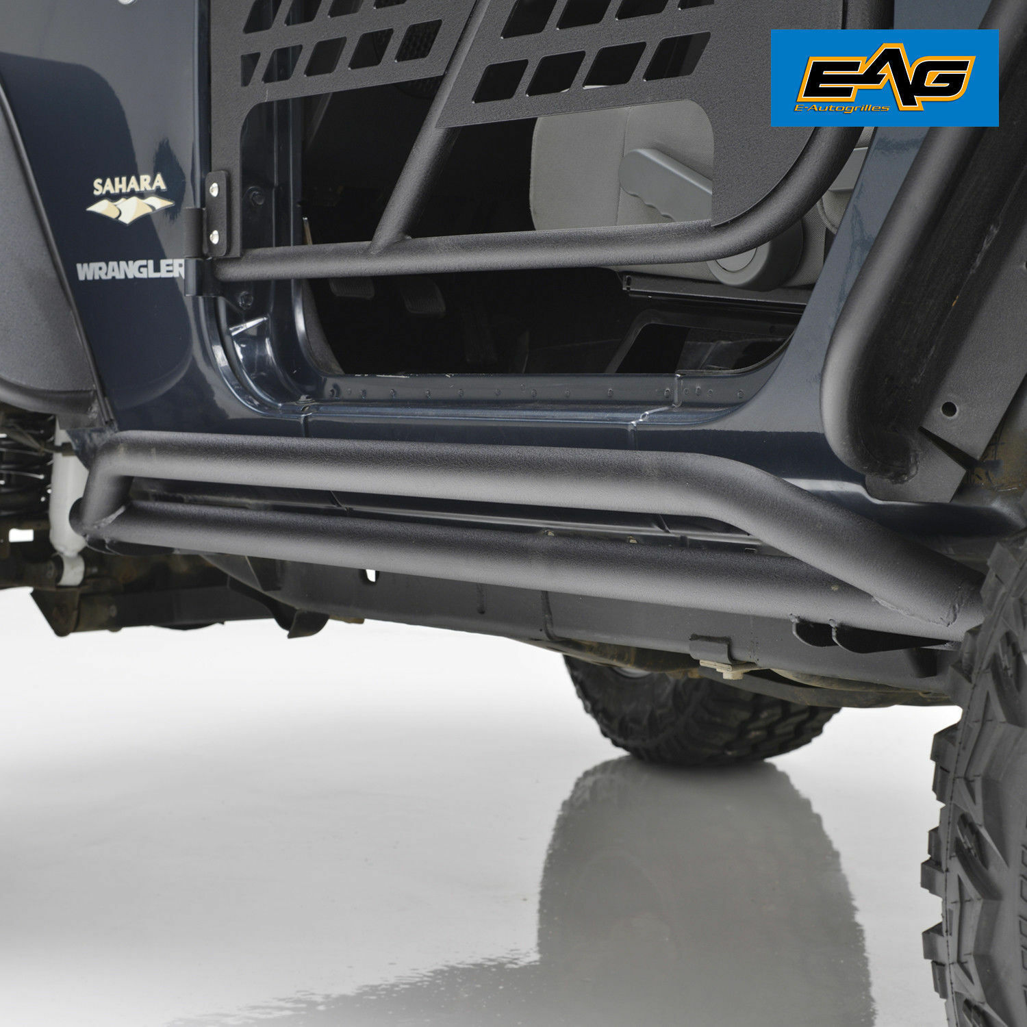 07 18 Jeep Wrangler Jk 2 Door Tubular Rock Slider Nerf Step Bars Running Boards Guard 1 Of 3free Shipping See More