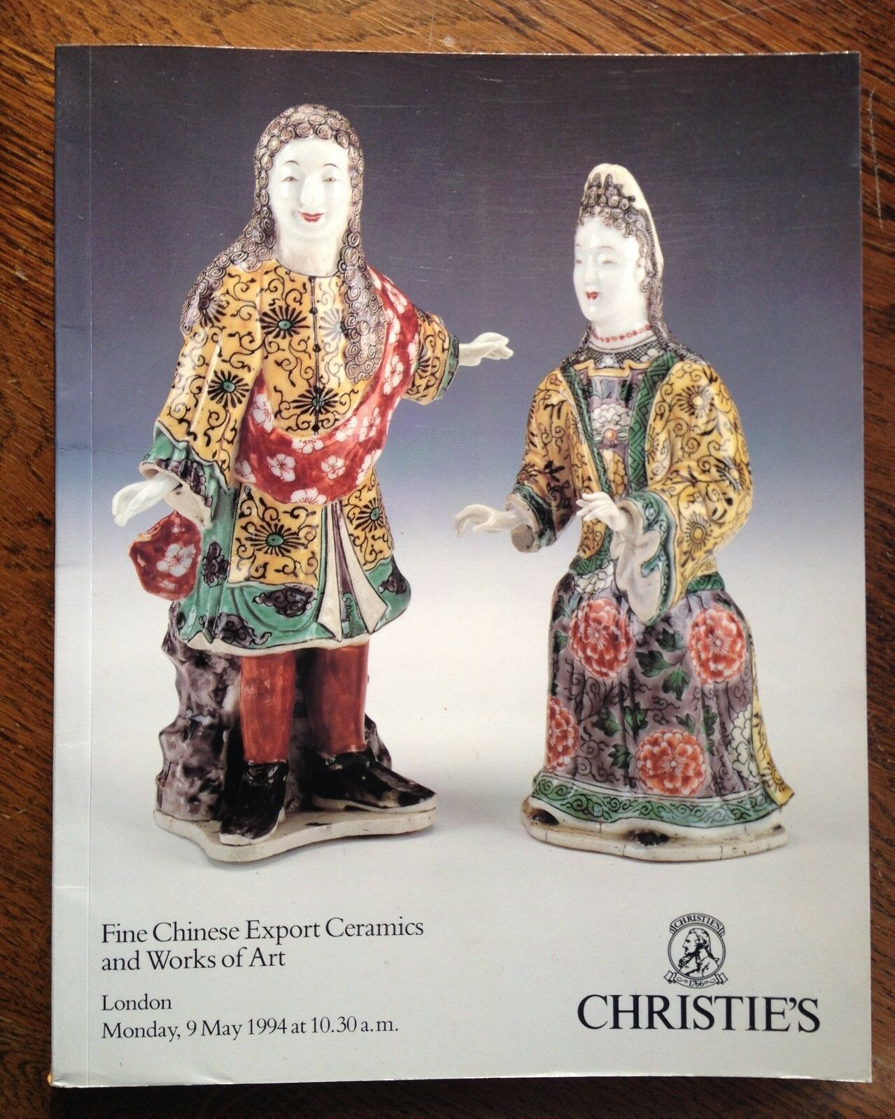 Christie's Fine Chinese Export Ceramics and Works of Art 1994 London Catalog