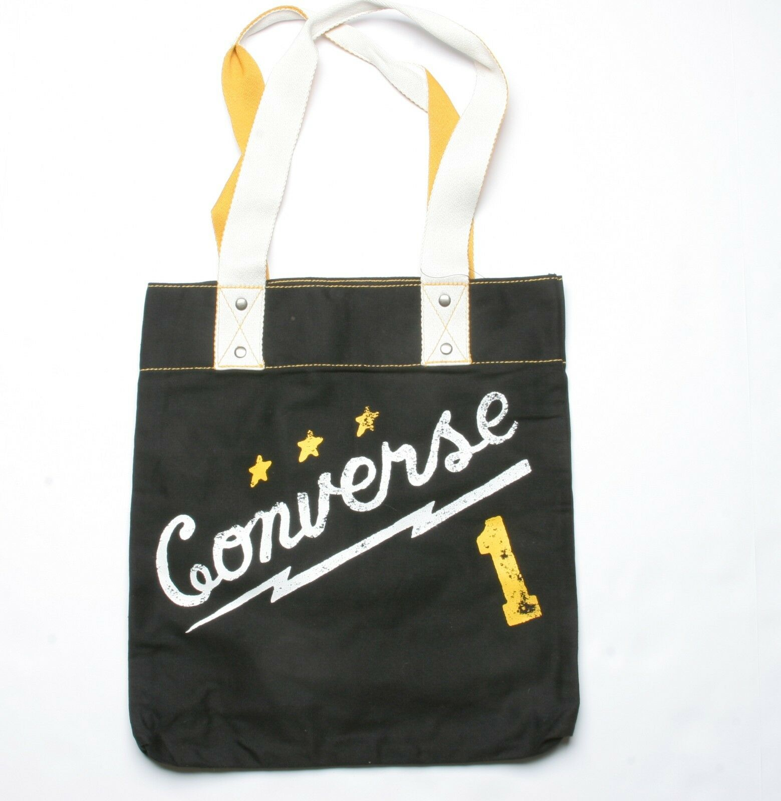 Converse Graphic Simple Tote Bag (Black) 1 of 1Only 2 available ... cd0f5e4fe5c50