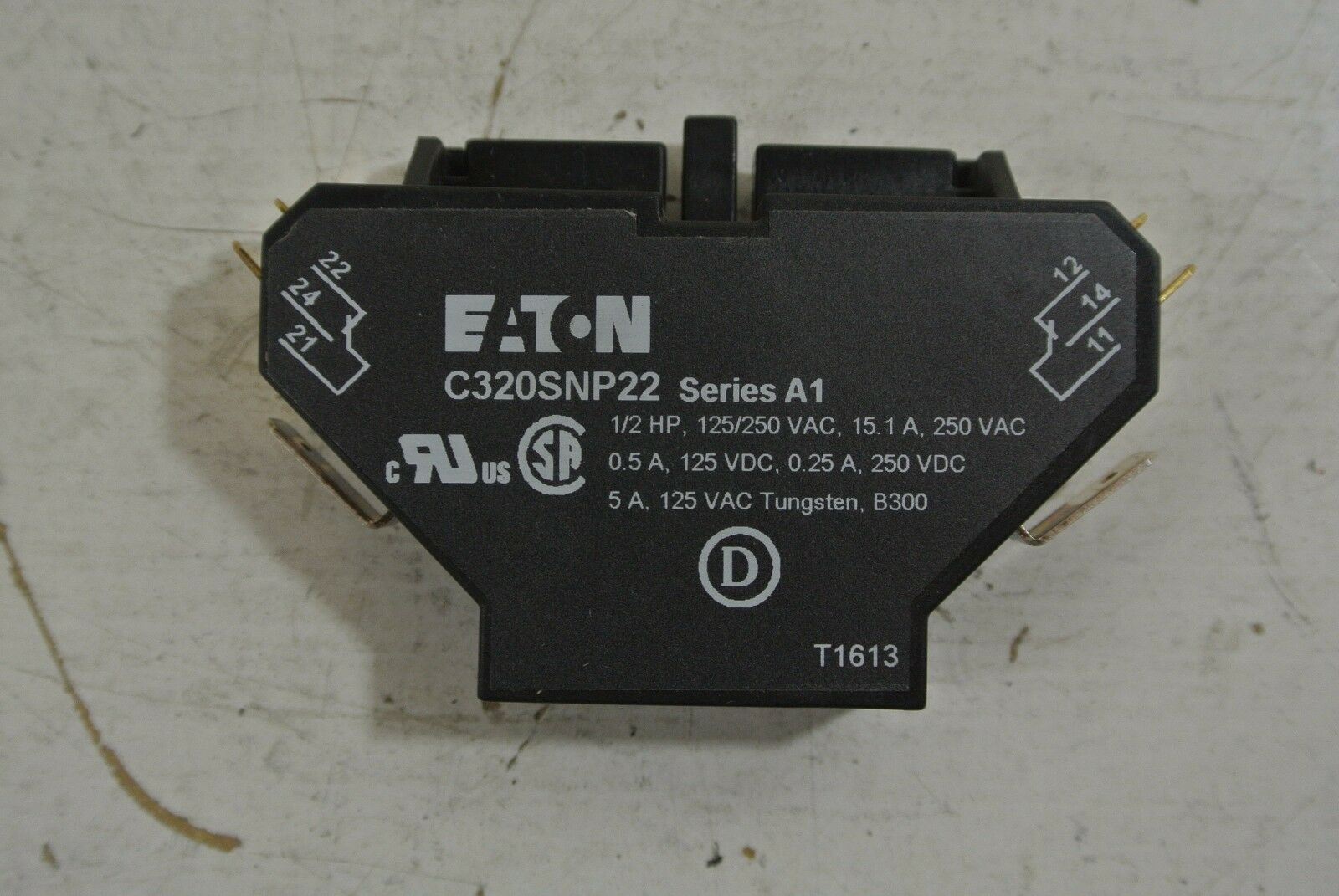 EATON AUXILIARY CONTACTOR snap switch Cat: C320SNP22 - $18.00 | PicClick