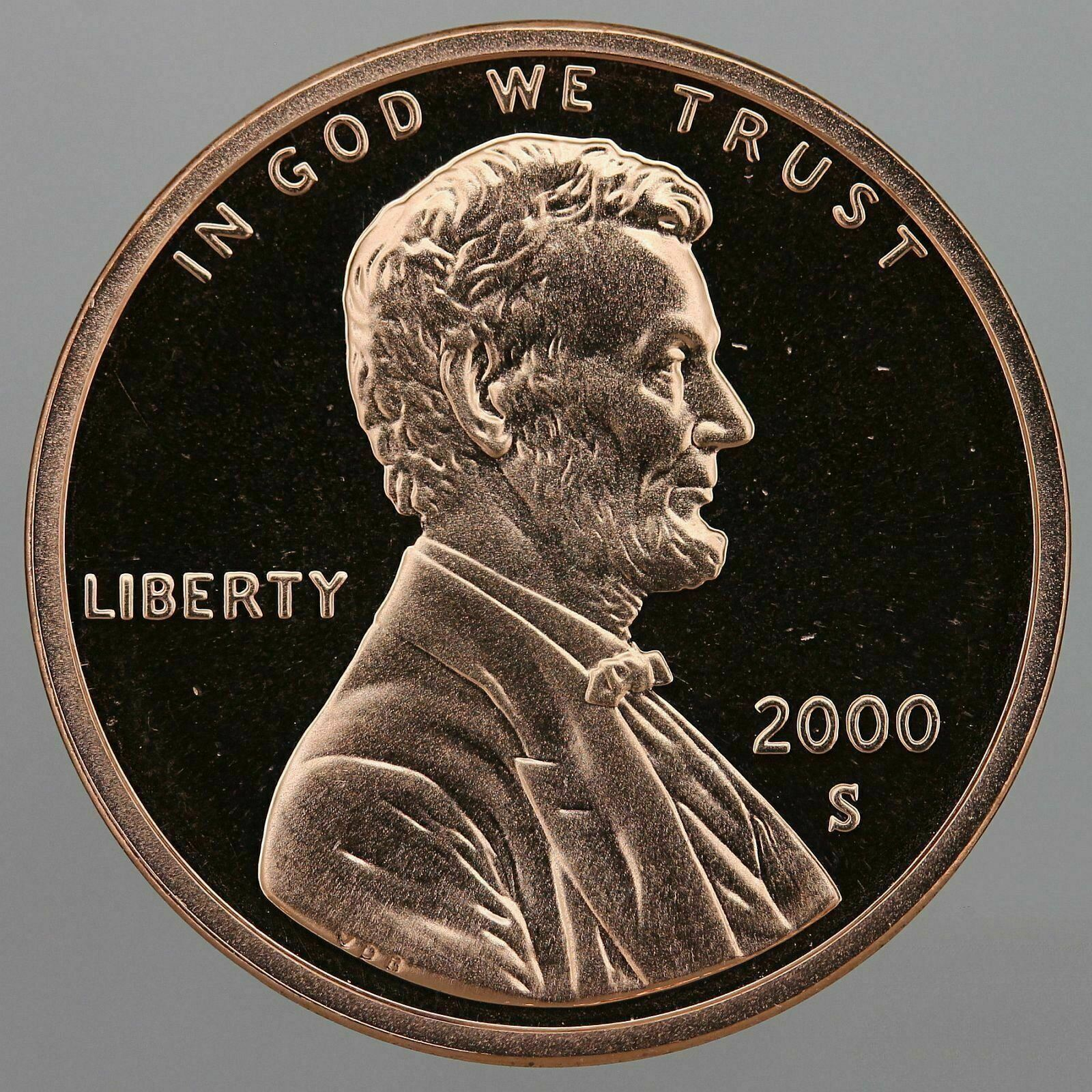 2000 S Lincoln Memorial Cent Gem Deep Cameo PROOF Penny US Mint Coin