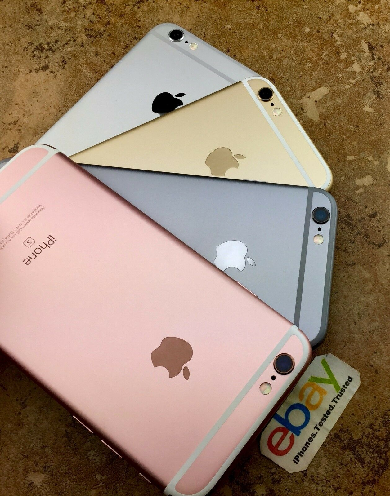 APPLE IPHONE 6S Rose Gold Silver Space Gray Verizon AT&T ...