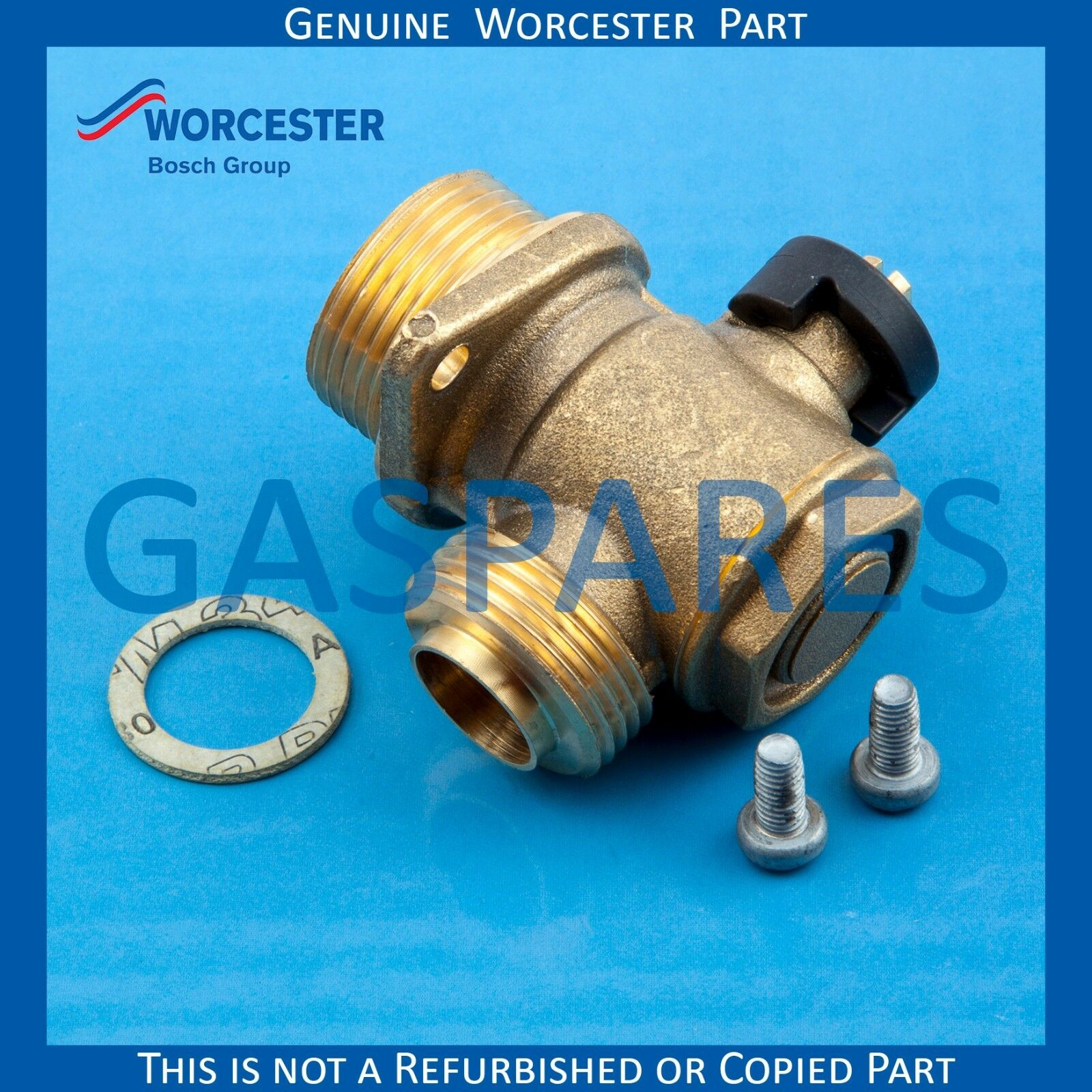 WORCESTER GAS SPARE Valve CH Part No 87161567550 - Genuine - £16.25 ...