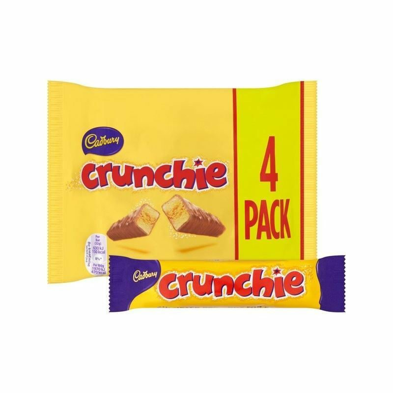 Cadbury Crunchie Multipack 4 x 32g