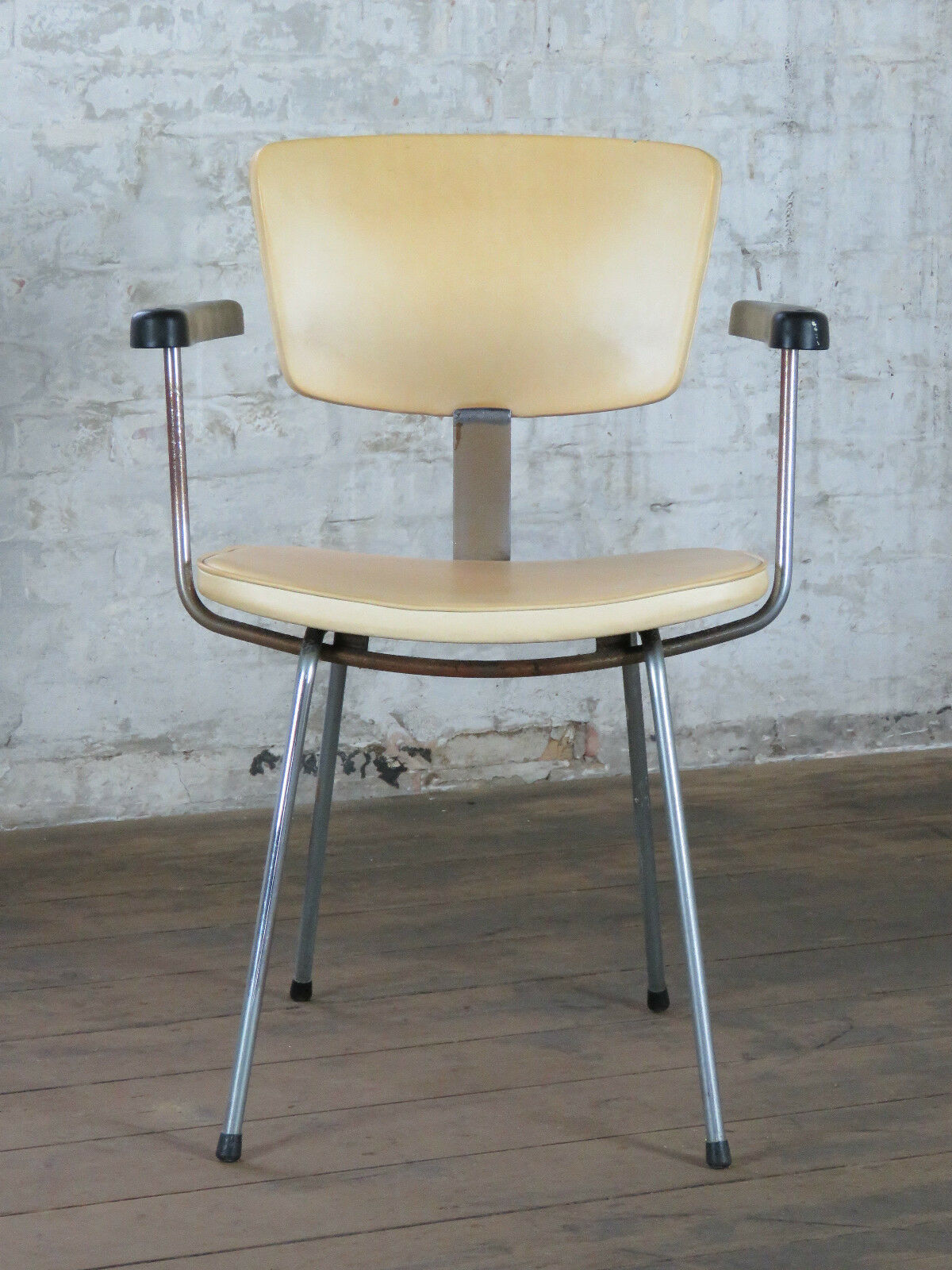 Mid Century Retro Cocktail Arm Desk Chair Armchair Stuhl Vintage 50s 60s