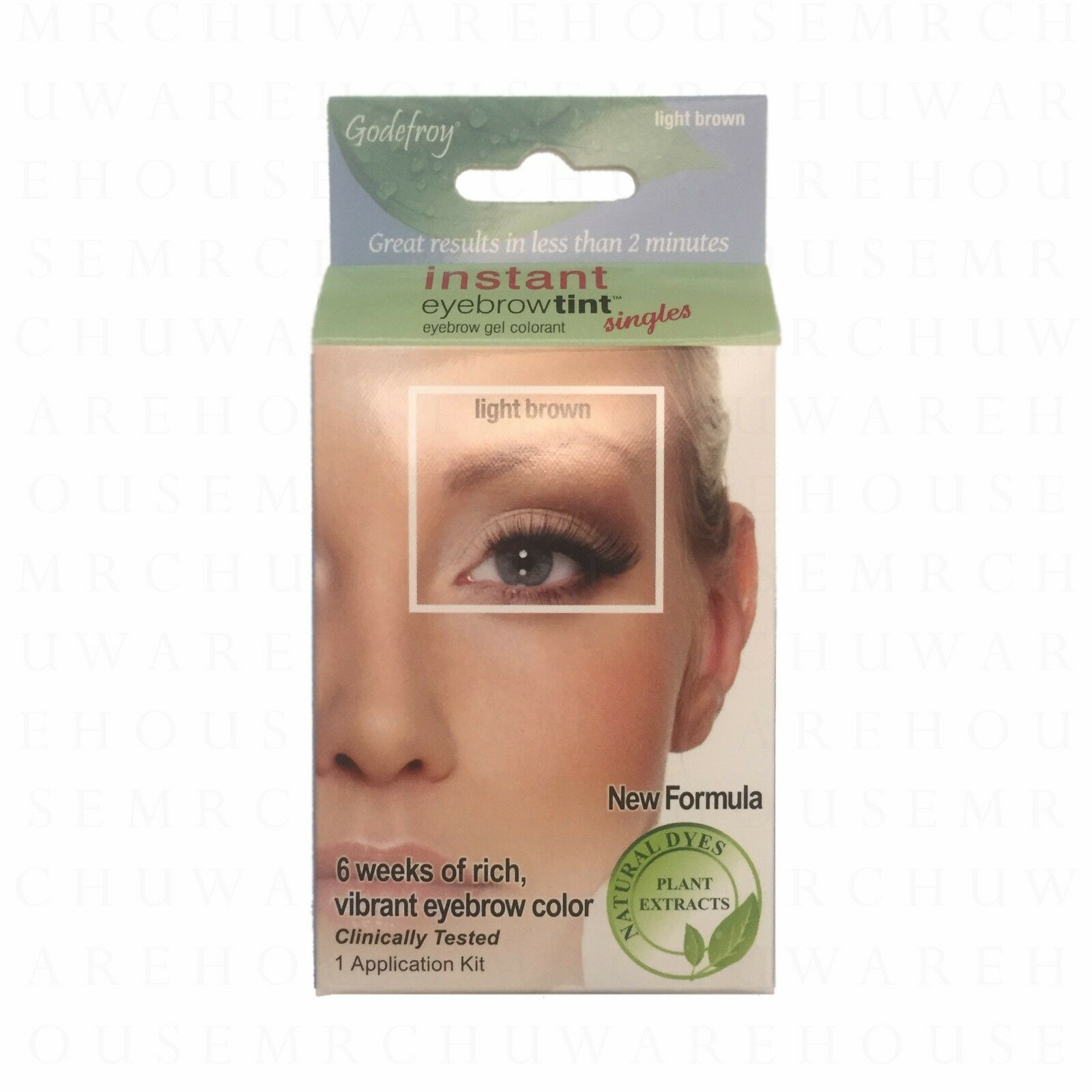 Godefroy Instant Eyebrow Tint Natural Gel Colorant 1 Application