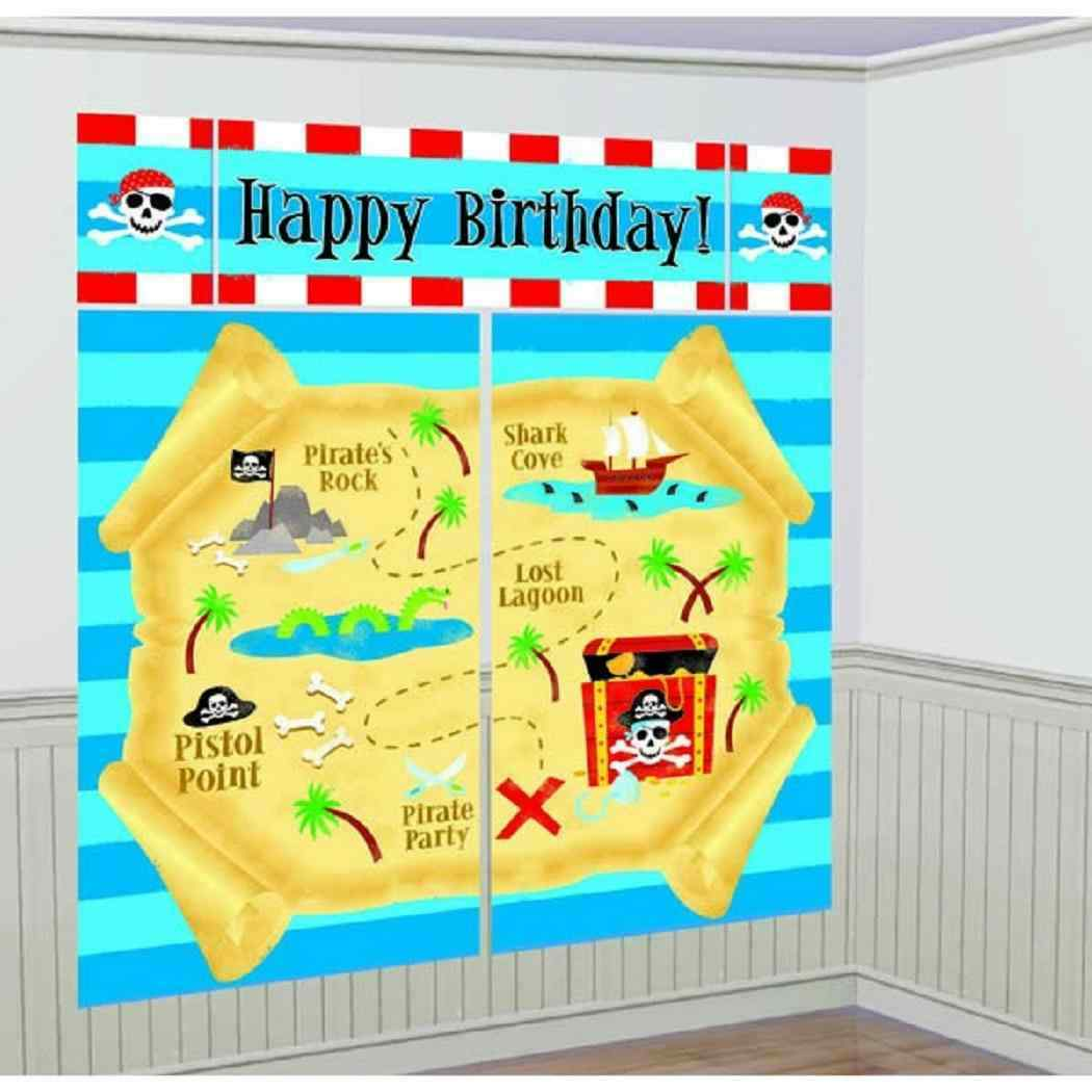 Fancy Party Decorations Wall Scenes Elaboration - Wall Art ...