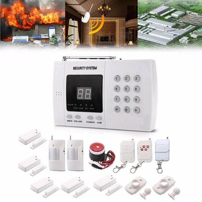 Gsm Wireless Pir Sensor Home House Security Auto Dialing Burglar Based System Alarm Au 1 Of 12 See More