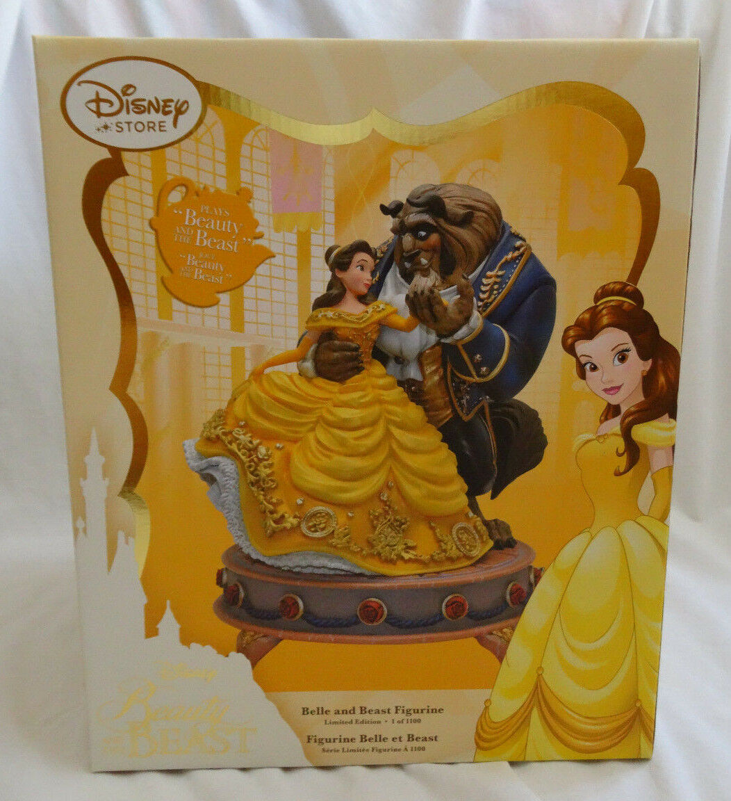 Disney Store Beauty And The Beast Limited Edition Figurine
