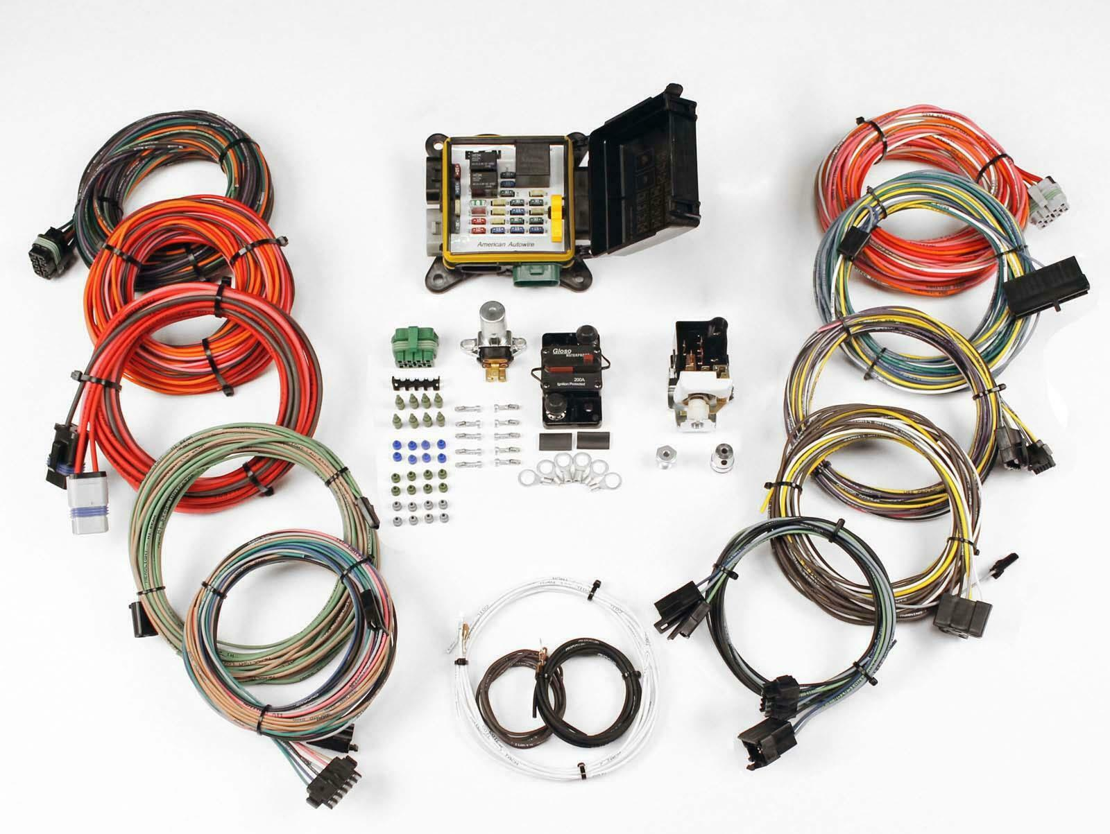 American Auto Wire 510564 Severe Duty Universal Wiring Harness Kit Kits 1 Of 1only 5 Available