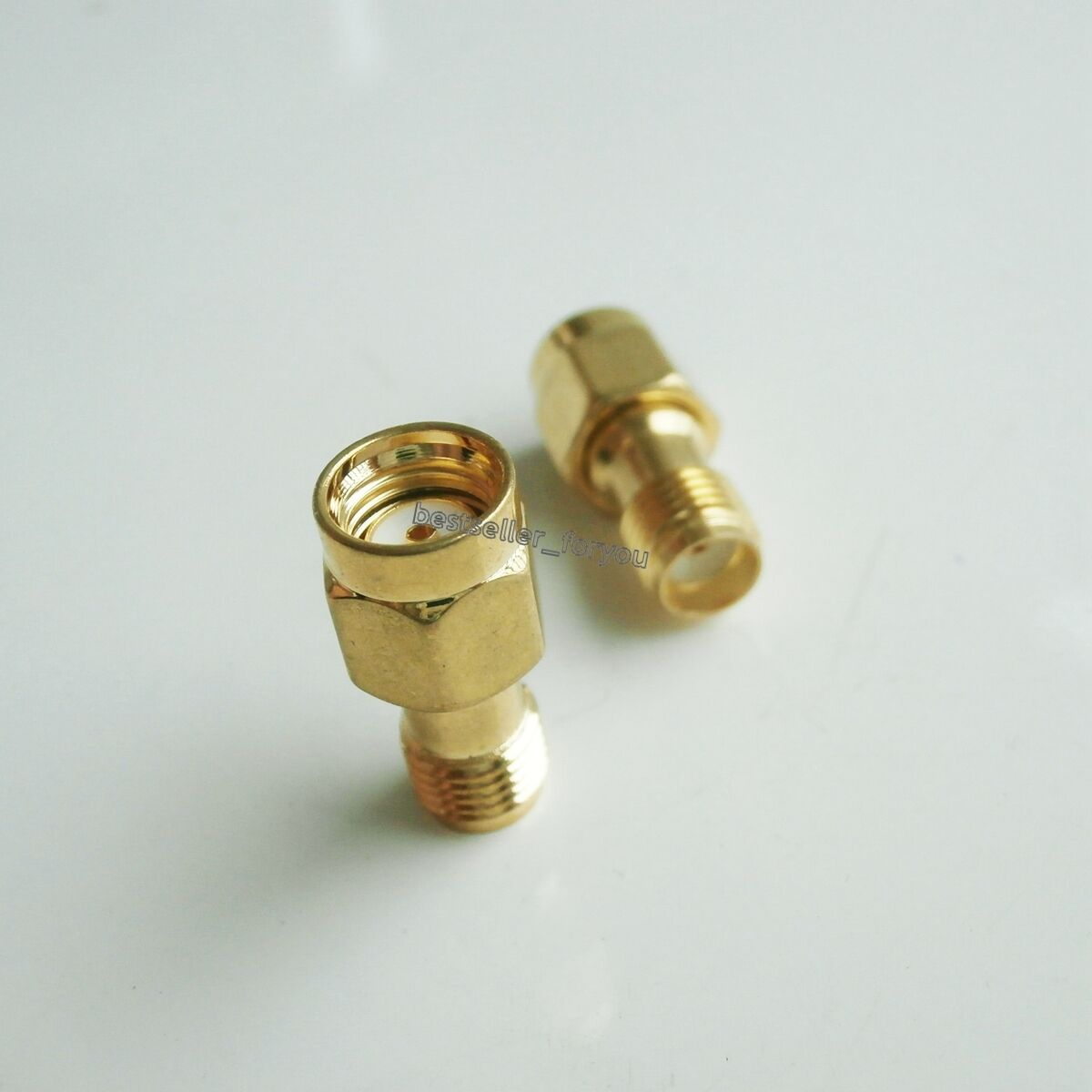2pcs Rpsma Rp Sma Male Plug To Female Jack Straight Rf Connector Kabel Pigtail Ufl Coaxial Adapter 1 Of 5