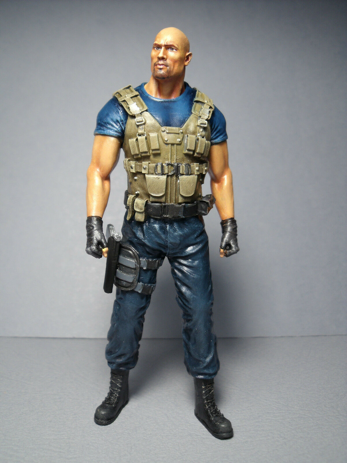 figurine 1 18 fast and furious rock johnson a peindre unpainted eur 25 00 picclick fr. Black Bedroom Furniture Sets. Home Design Ideas