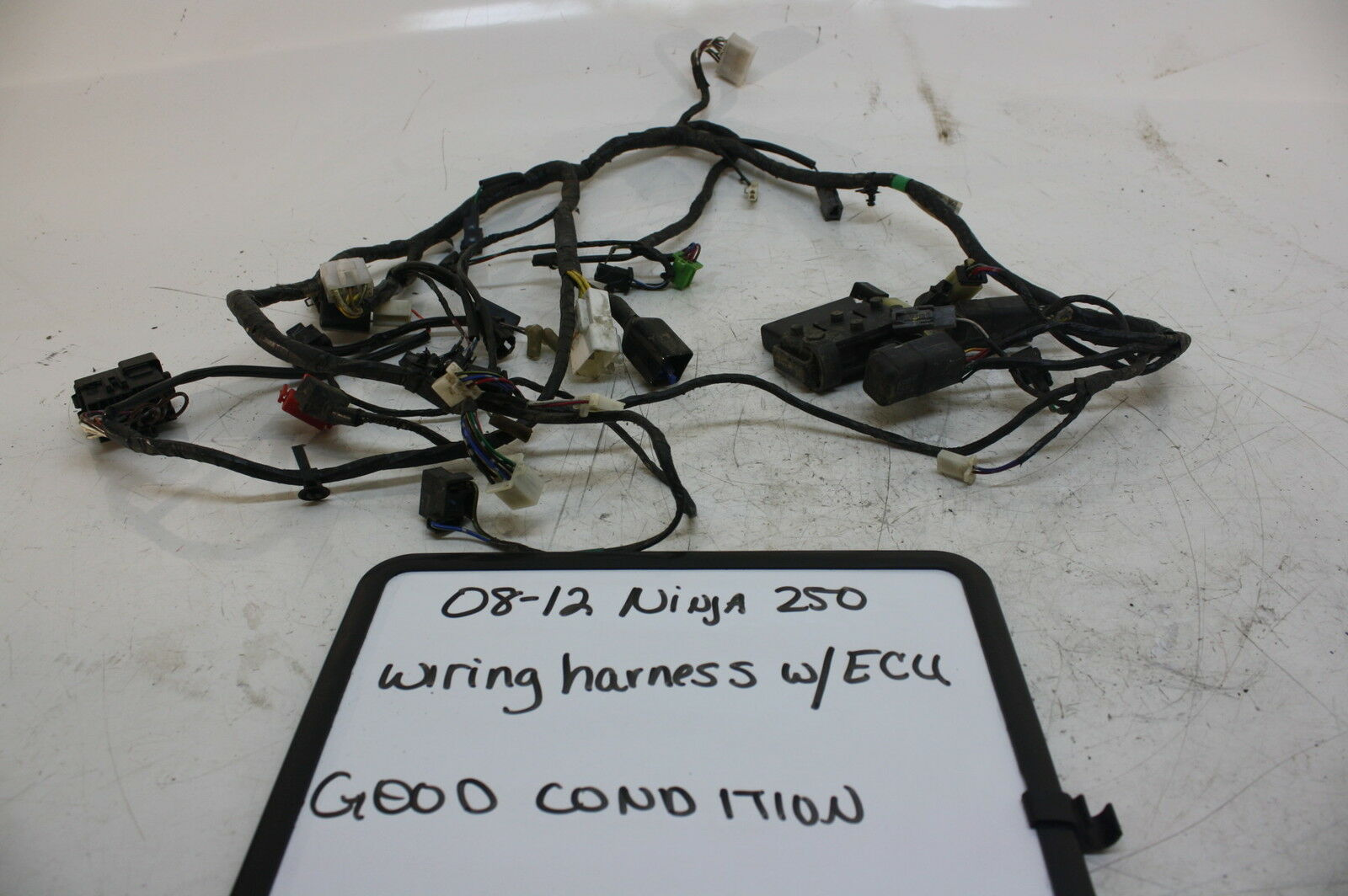 08 12 Kawasaki Ninja 250r Ex250 Oem Main Engine Wiring Harness Motor Diagram Wire Ecu 1 Of 1only Available See More