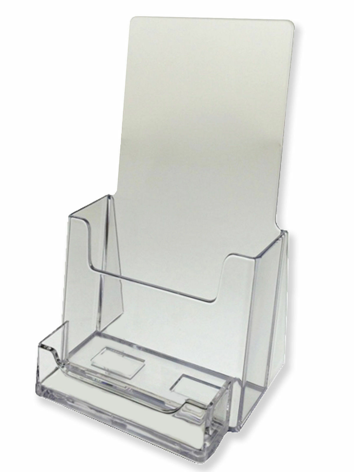 2 pack clear tri fold brochure holder with business card azm 2 pack clear tri fold brochure holder with business card azm displays on sale 1 of 1free shipping see more colourmoves