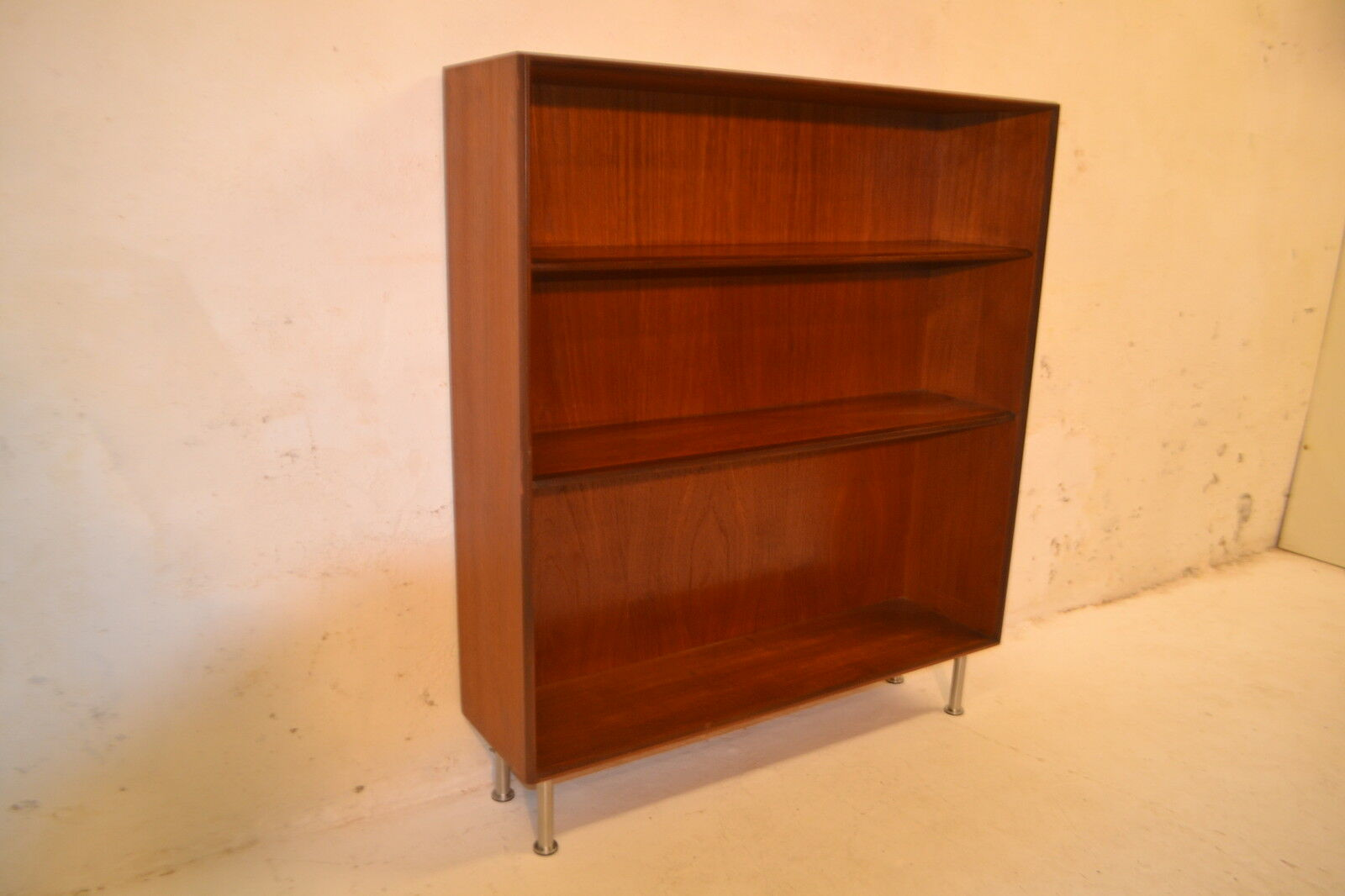 Stunning Vintage Danish Teak Kofod Larsen Storage Bookcase Display