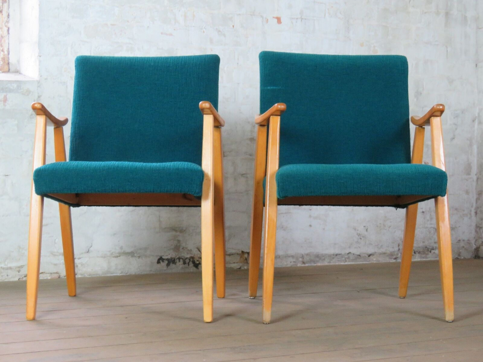 1 / 3 Mid Century Retro Cocktail Easy Chair Armchair Sessel Vintage 50s 60s