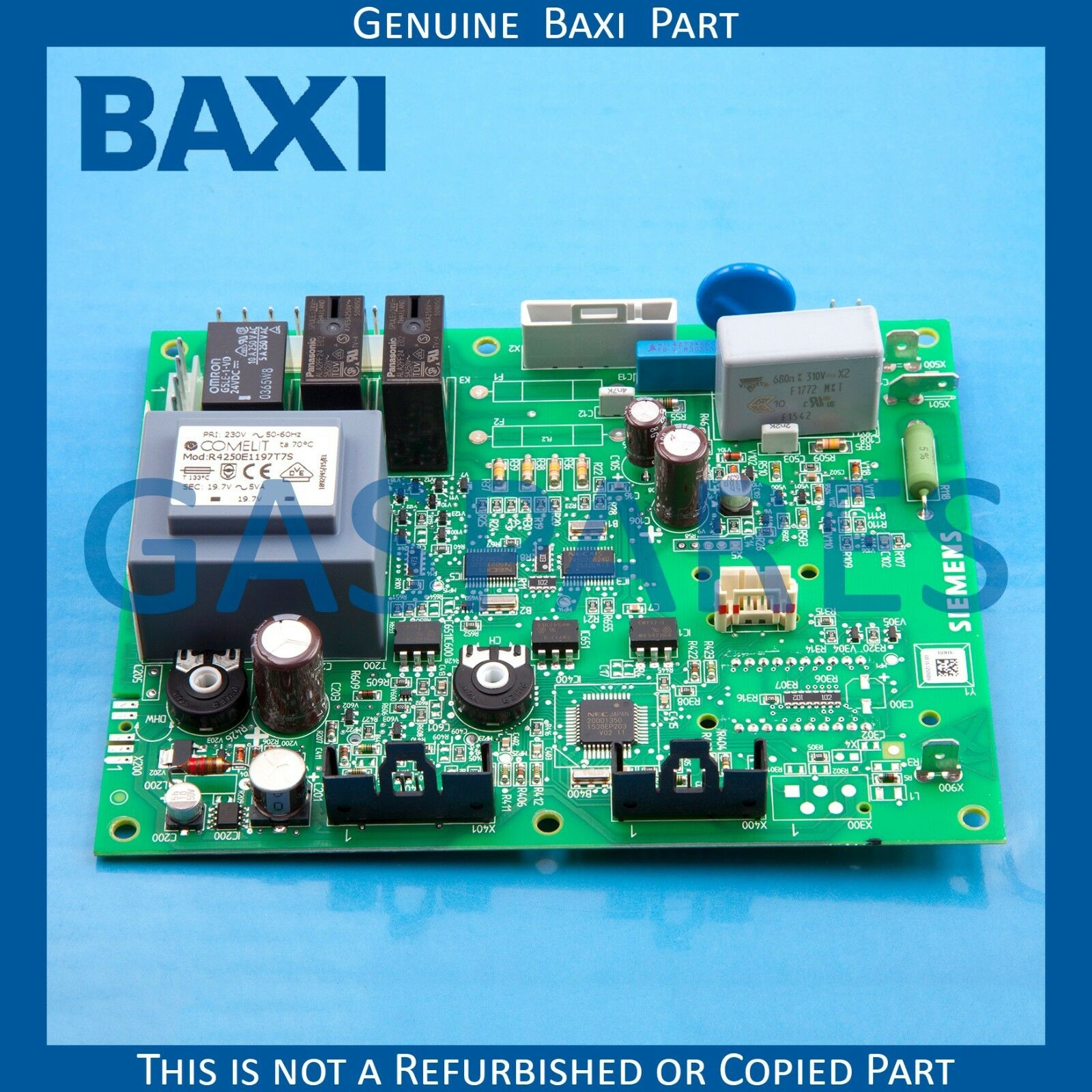 BAXI MAIN GAS Spare PCB Printed Circuit Board Part No 5131264 ...