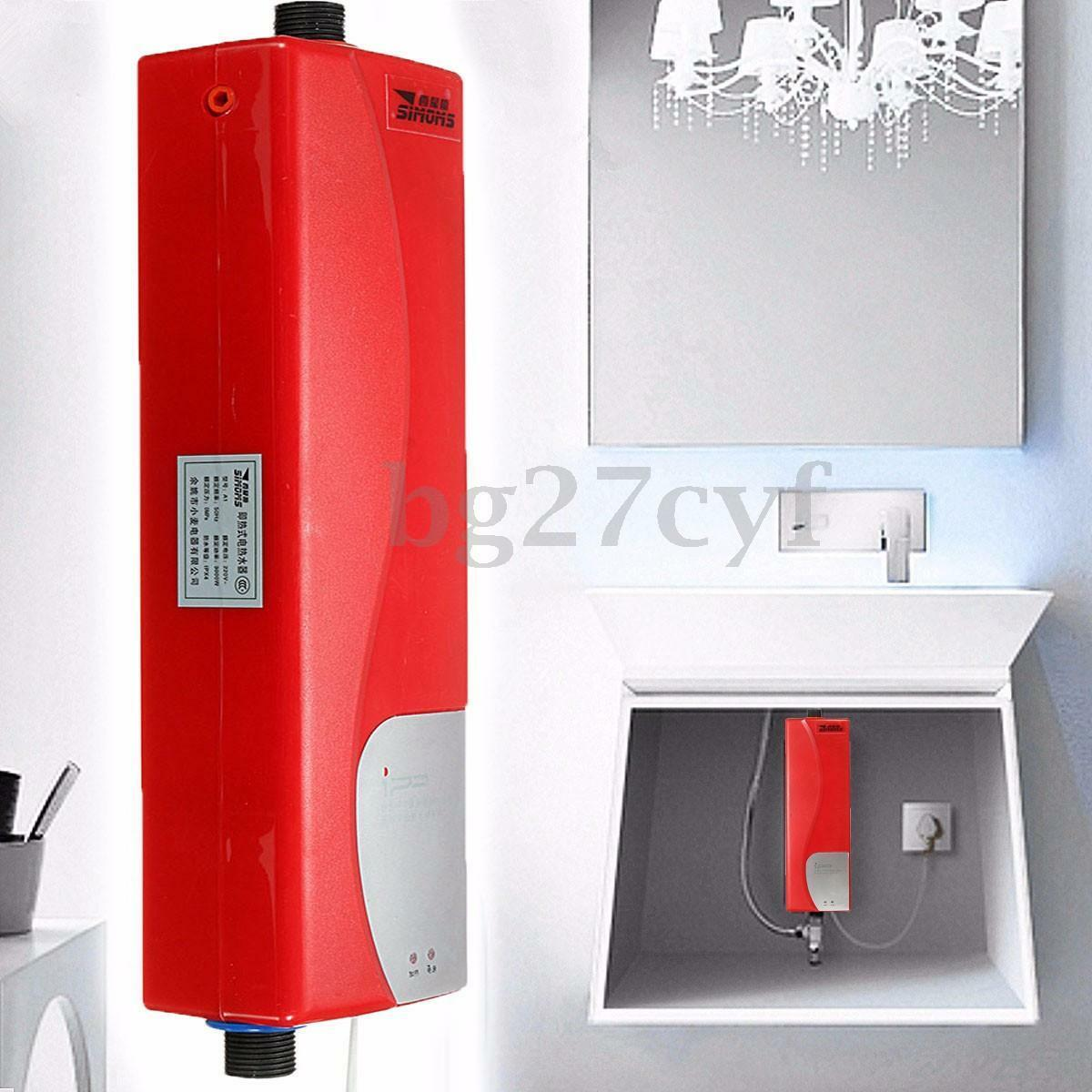 ELECTRIC Hot Water Heater Instant Tankless Home Kitchen