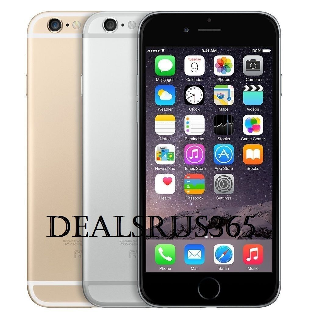 Apple iPhone 6 16GB 64GB Factory Unlocked AT&T T-Mobile Smartphone