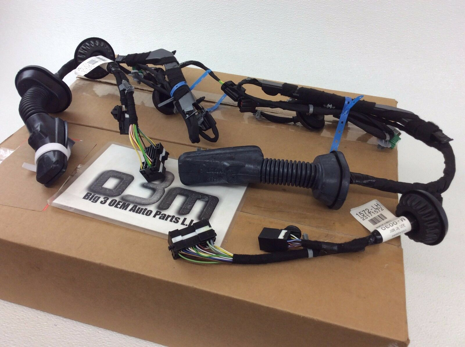 2014 2016 Chevrolet Silverado Gmc Sierra Trailer Tow Mirror Wiring Harness Harnesses New 1 Of 5only 4 Available