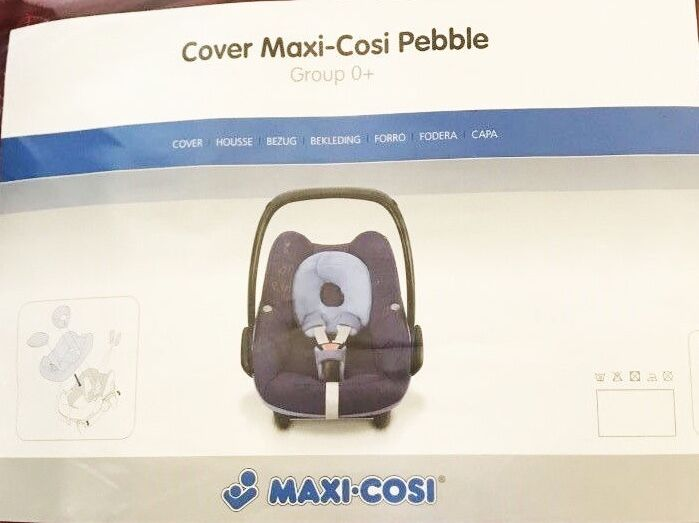 maxi cosi pebble car seat replacement cover set genuine new picclick uk. Black Bedroom Furniture Sets. Home Design Ideas