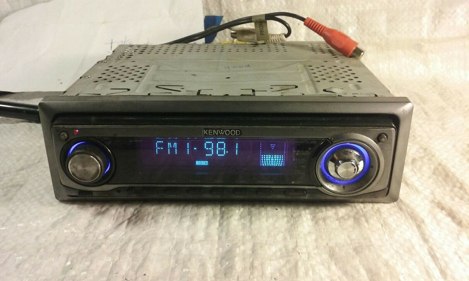 Kenwood Kdc Mp335 Cd Player In Dash Receiver 8499 Picclick Mp338 Wiring Diagram Colors 1 Of 2only Available