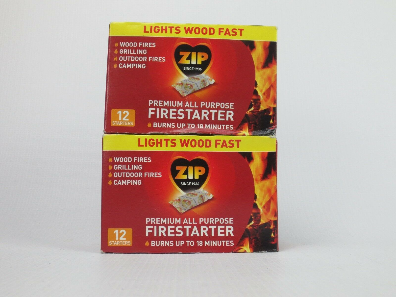 24 zip premium all purpose wrapped fire starter bbq wood stoves