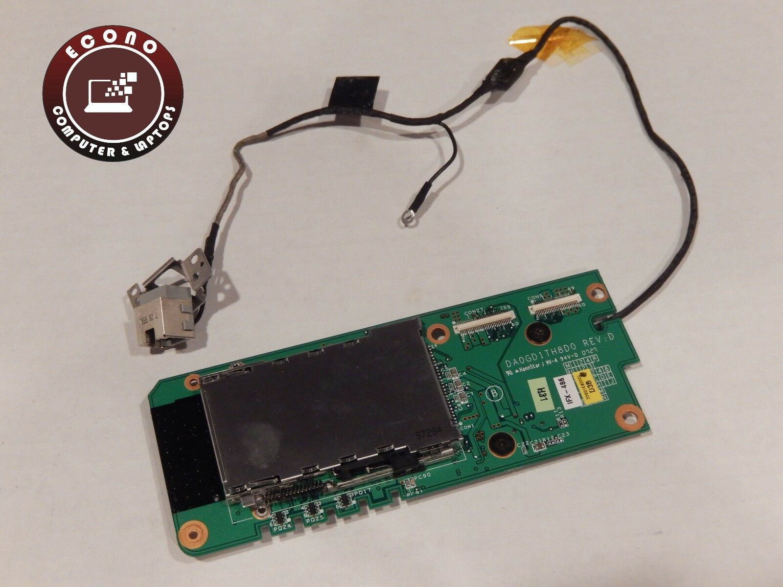 Sony vaio vgn cr120e pcg 5g3l genuine card reader board w cable 1 of 1only 1 available freerunsca Images