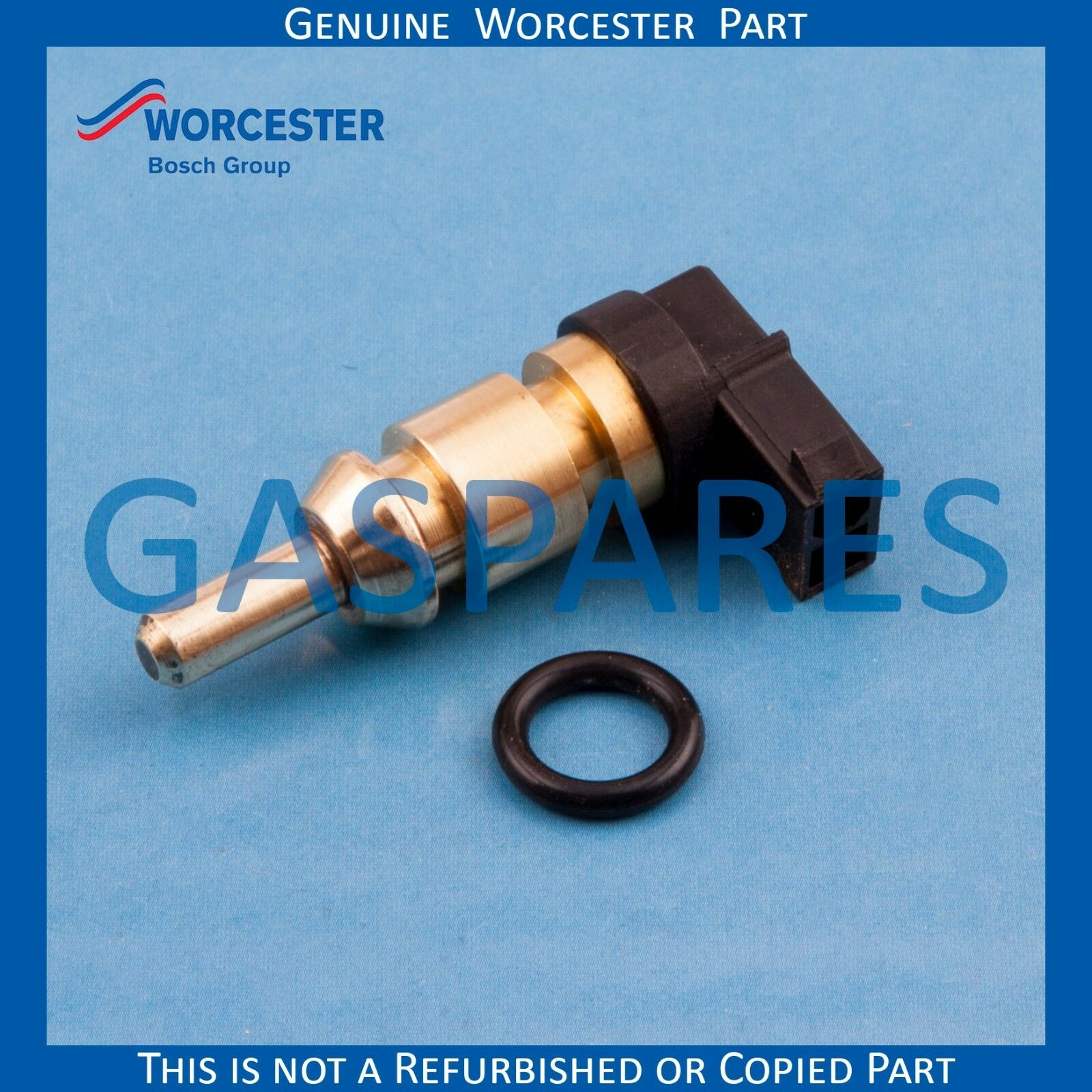 WORCESTER GAS SPARE Sensor NTC Right Angled - Part No 87186843230 ...