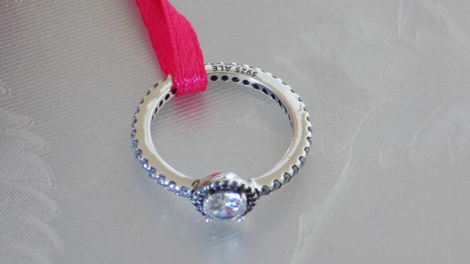 Pandora Classic Elegance Sterling Silver Ring S925 Ale