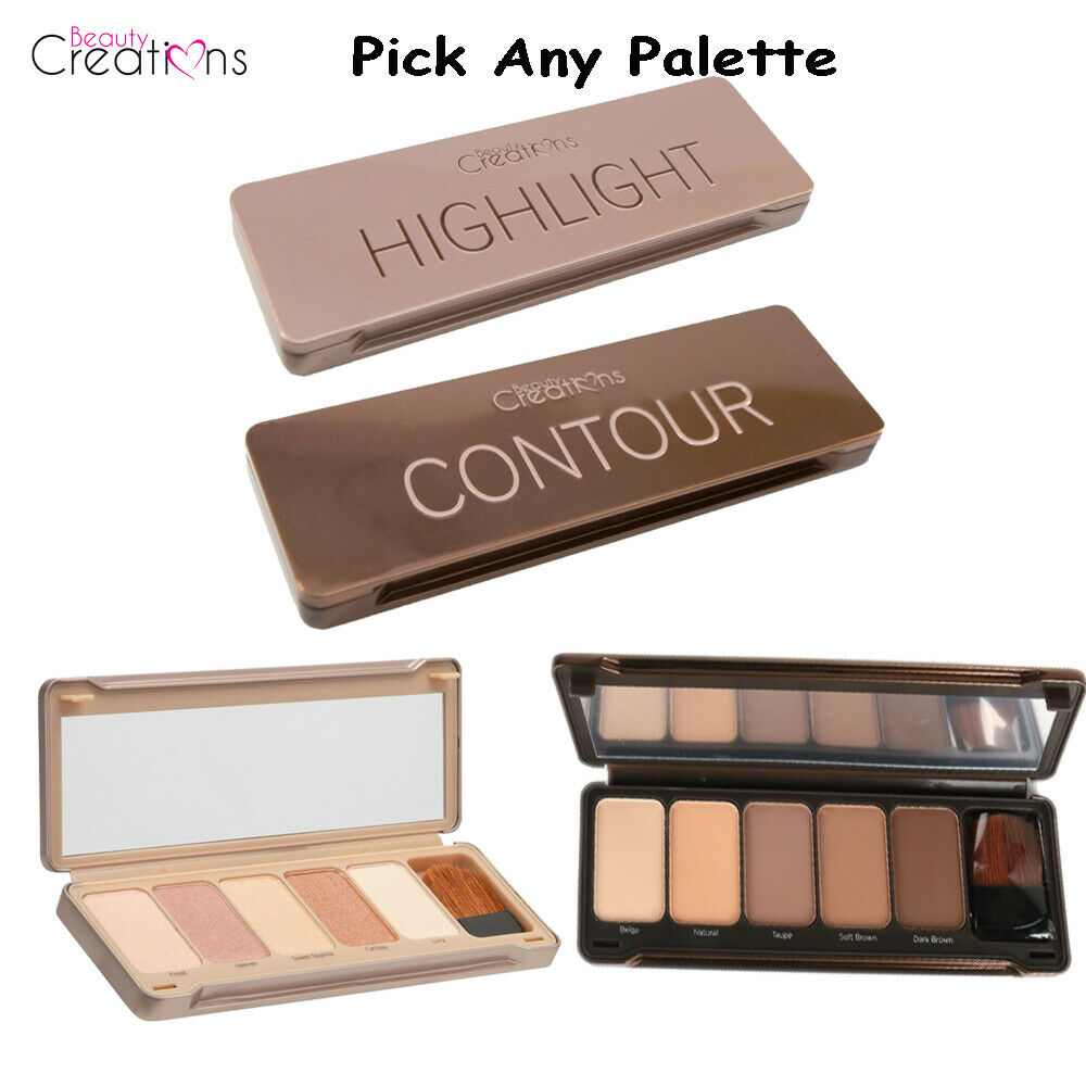 Beauty Creations Contour Or Highlight Face Palette 848 Picclick Cosmetics Angel Glow 1 Of See More