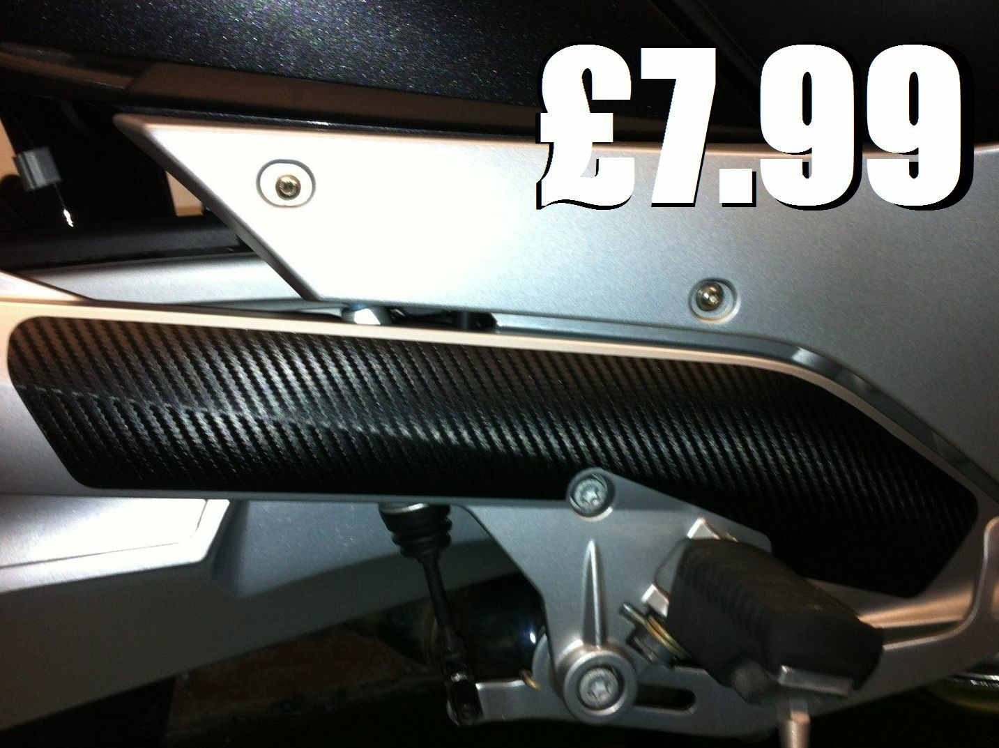 Bmw R1200rt Carbon Fibre Effect Frame Protector Chf 10