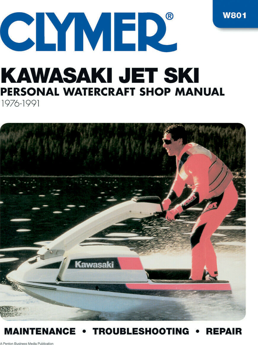 CLYMER Repair Manual for 1976-1991 Kawasaki Jet Ski 1 of 1Only 4 available  ...