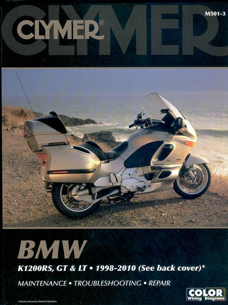 clymer repair manual bmw k1200rs 1998 2005 k1200gt 2003 2005 rh picclick com BMW Factory Wiring Diagrams BMW Factory Wiring Diagrams