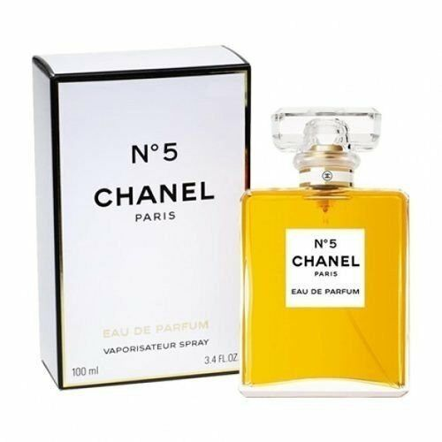 profumo chanel n 5 eau de parfum donna 100ml nuovo eur. Black Bedroom Furniture Sets. Home Design Ideas