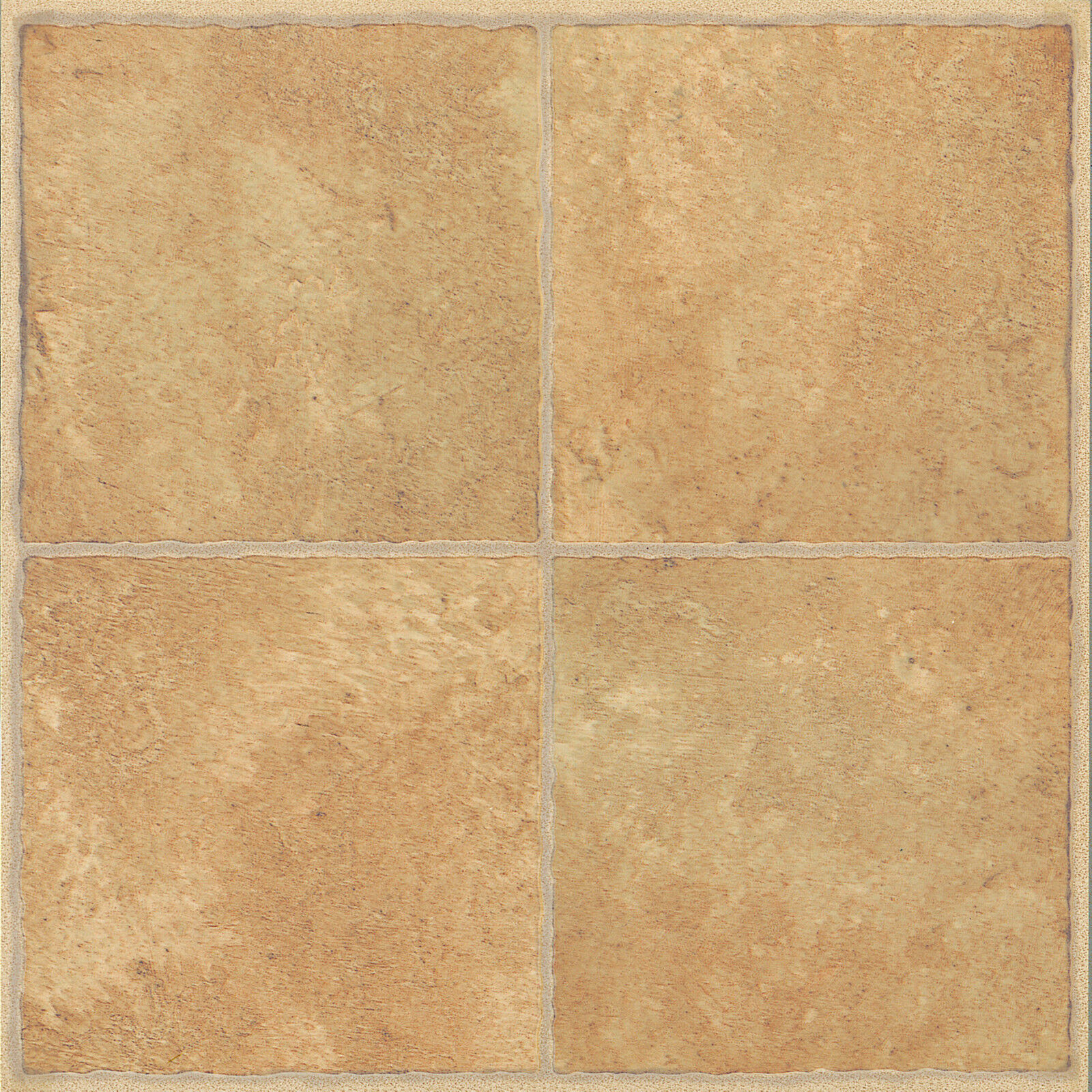 60 X Vinyl Floor Tiles Self Adhesive Bathroom Kitchen Beige Traditional 186 Eur 19 45