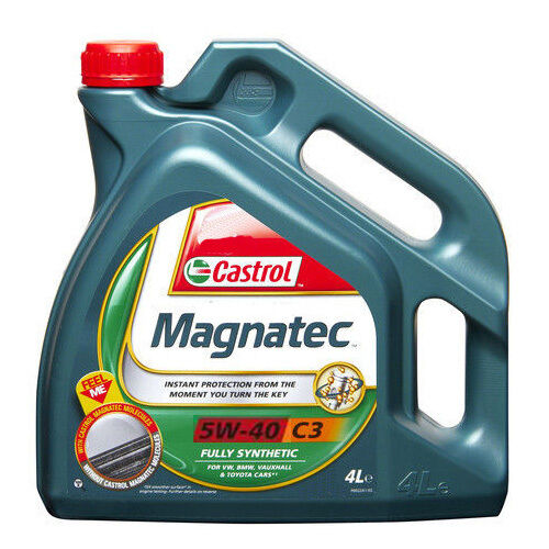 castrol magnatec 5w40 c3 fully synthetic engine oil 4l picclick uk. Black Bedroom Furniture Sets. Home Design Ideas