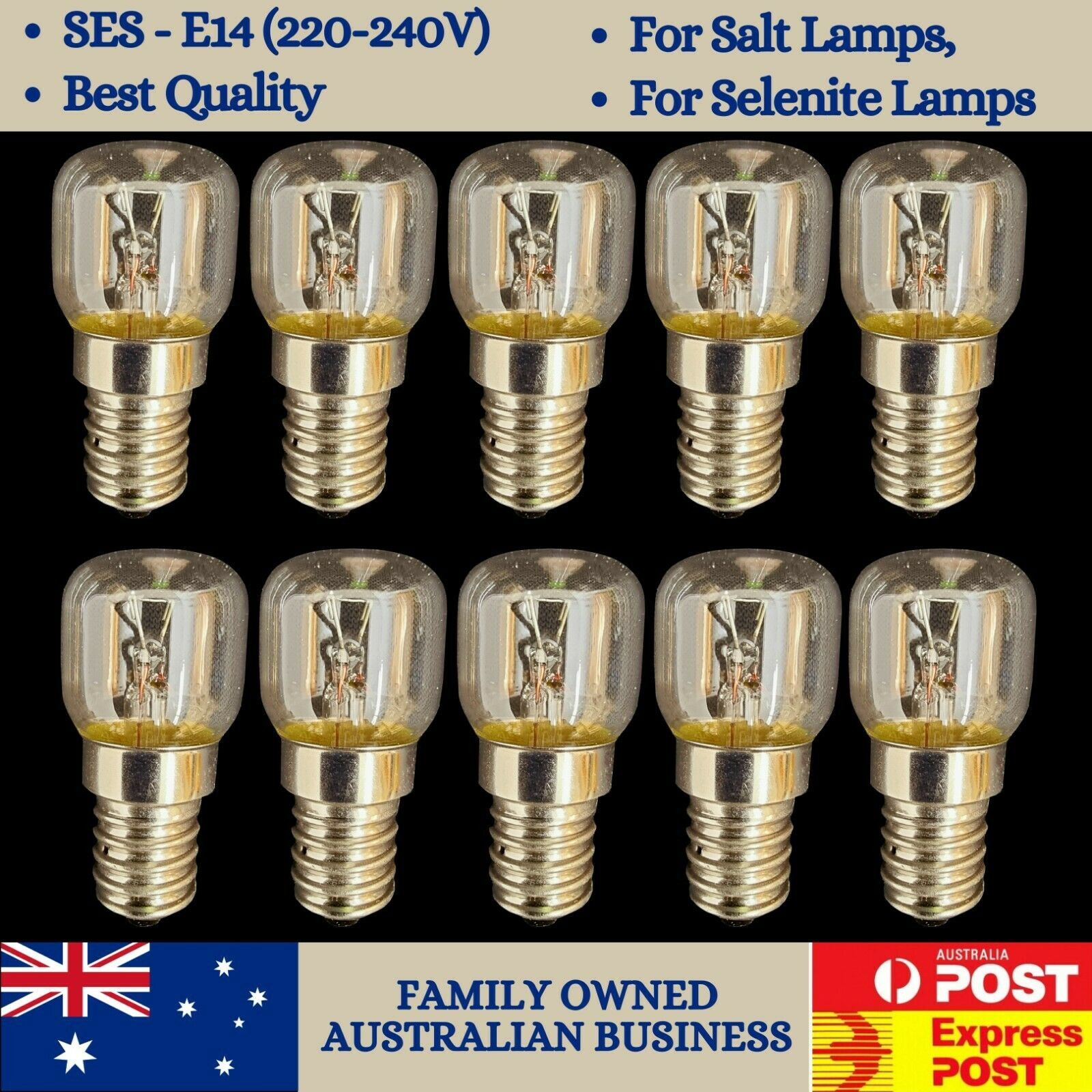 Light Bulbs for Salt Lamps and Selenite Lamps - 15W AUD 15.00 - PicClick AU
