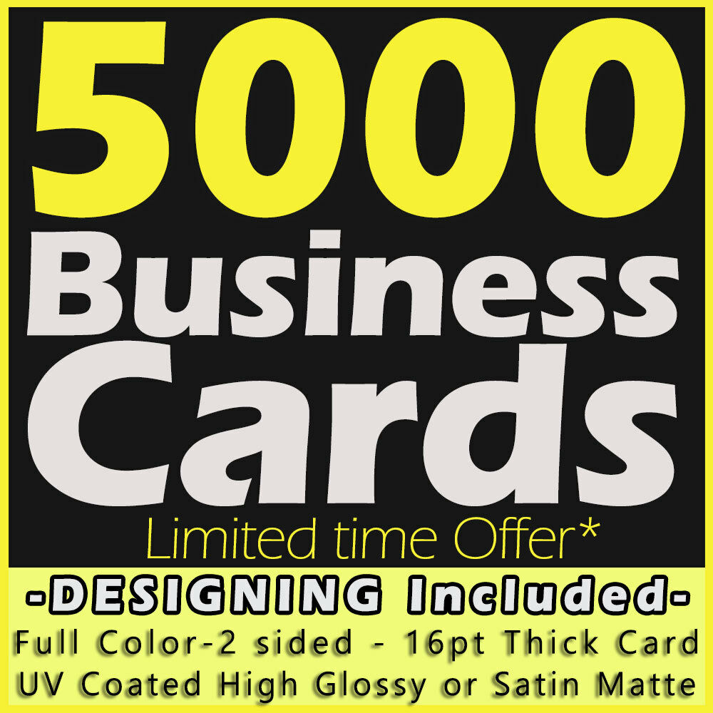 1 of 1free shipping - 5000 Business Cards