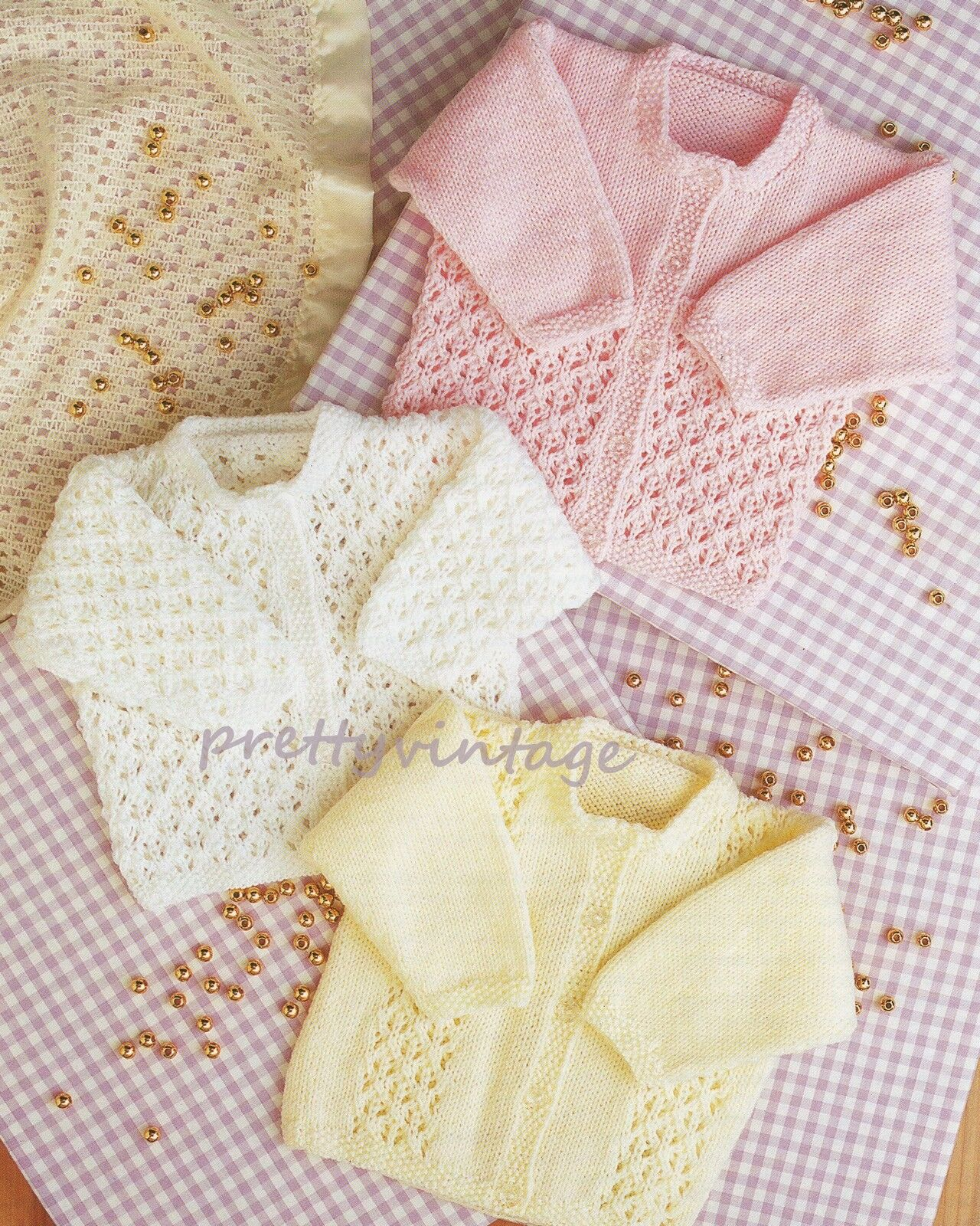 Baby Knitting Pattern Double Knit Cardigans 16-24