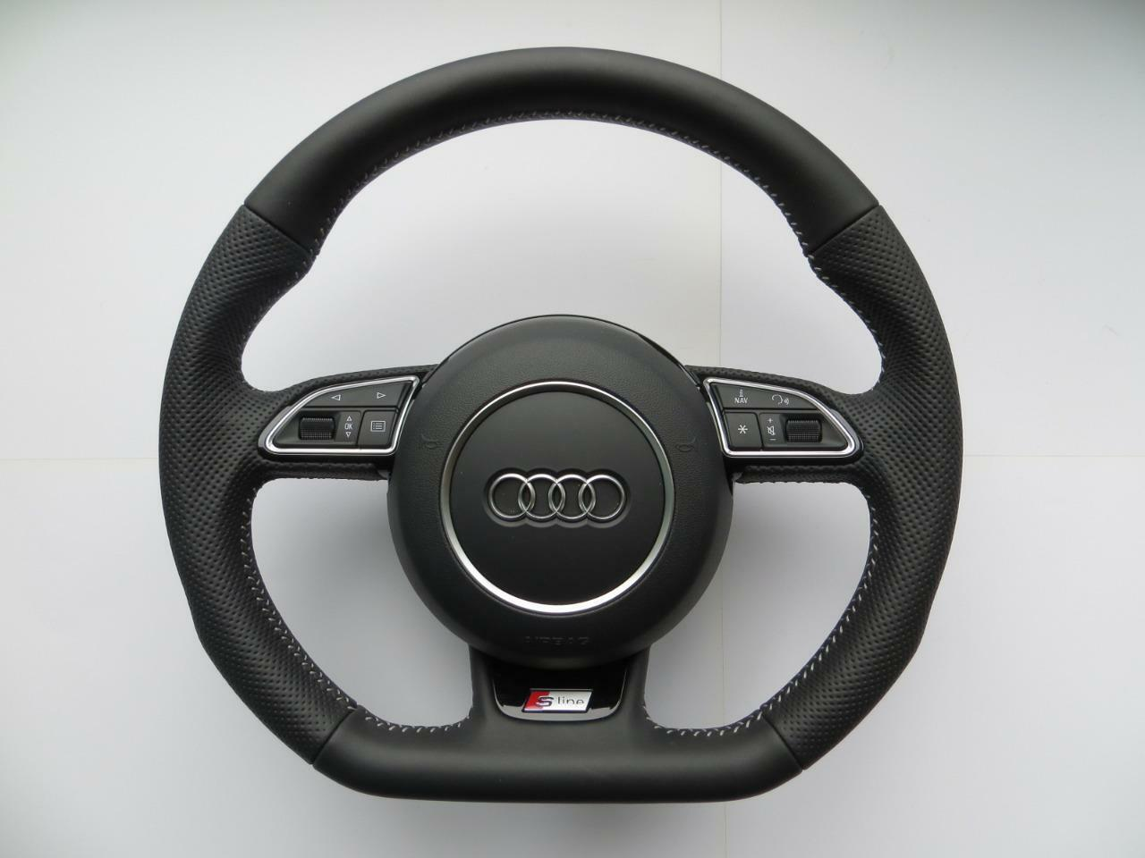 audi s line steering wheel with airbag a3 s3 rs3 q3 a1. Black Bedroom Furniture Sets. Home Design Ideas